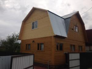 Дом после реконструкции