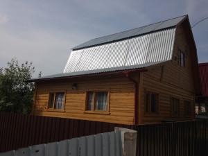 Дом до проведения реконструкции